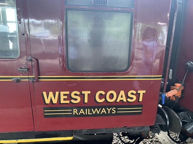 West Coast railways logo