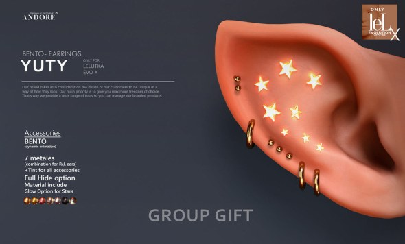 ANDORE @ New Group Gift!