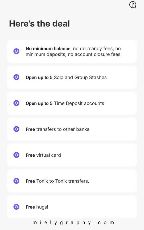 Tonik Bank App Review - Mielygraphy