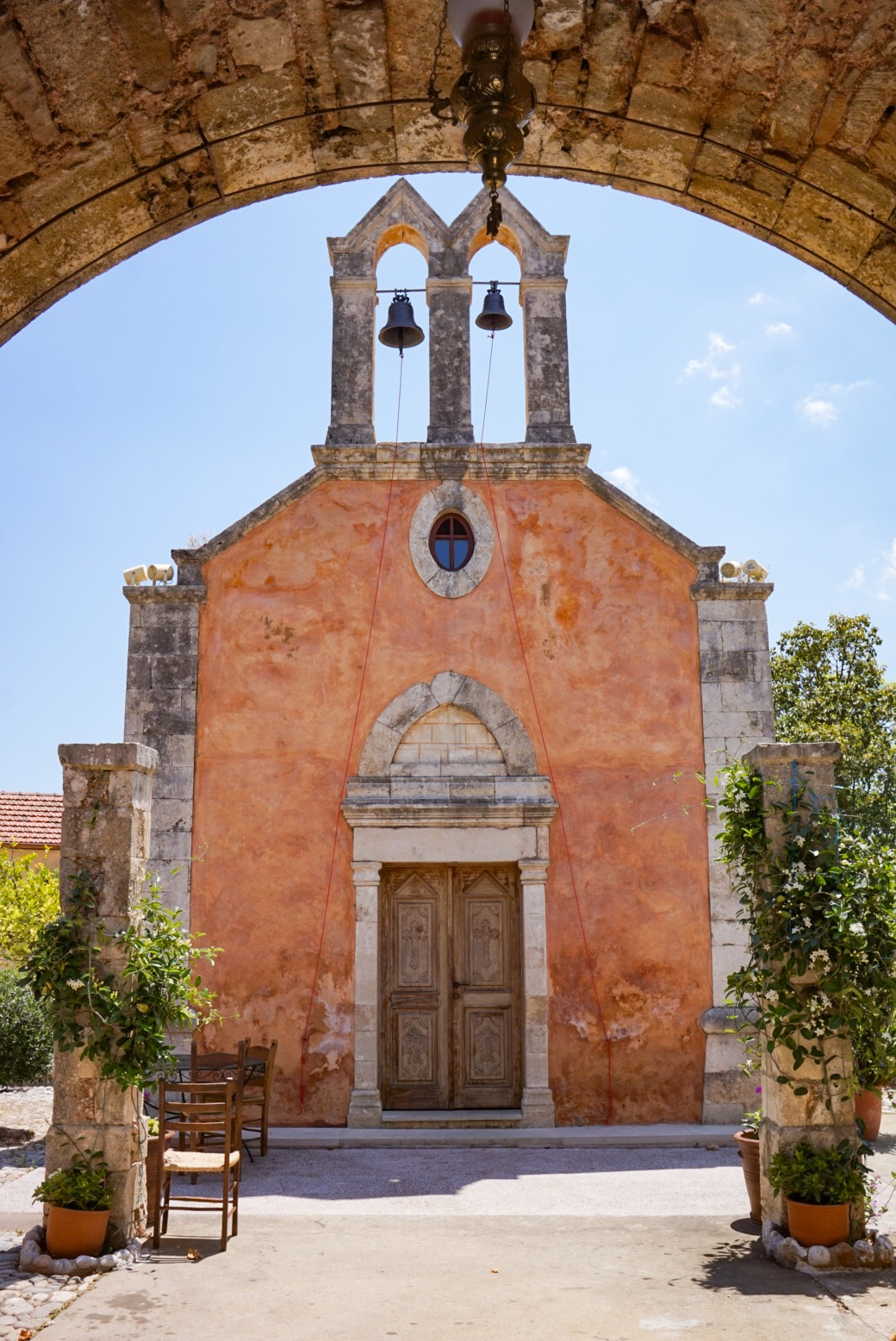 Pyhän Yrjön luostari, Apokoronas