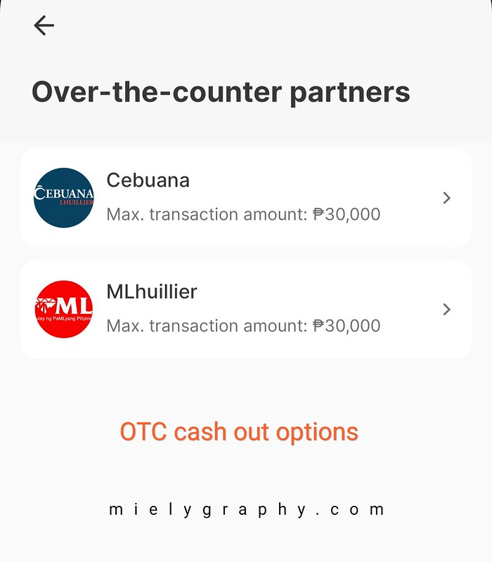 Cash-out options for Tonik Bank - Mielygraphy