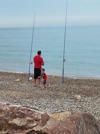 Mohammed pescando