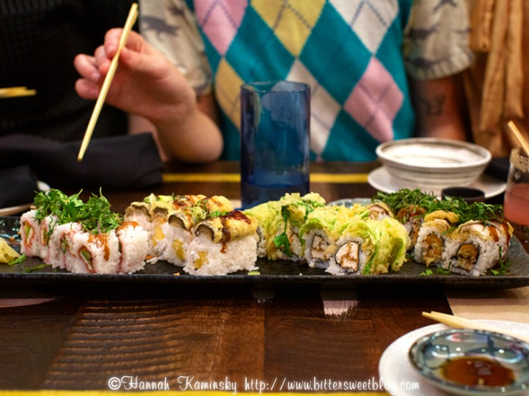 All's Fair in Love and Sushi