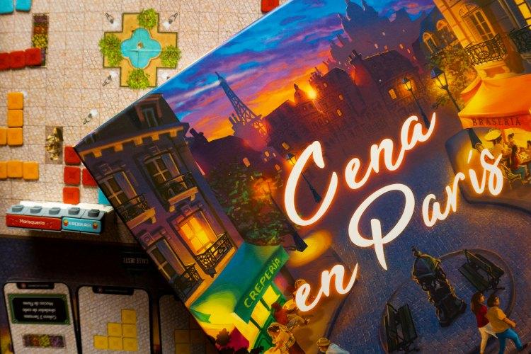 CENA EN PARIS CAJA