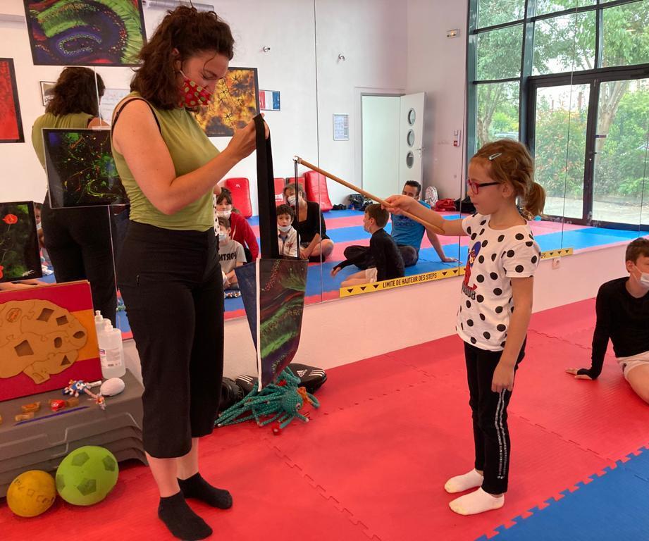 Pêche au bébé neurone dans le sac hippocampe - Présentation à l'USM VILLEPARISIS SECTION – taekwondo hapkido bodytaekwondo - 3 juillet 2021.