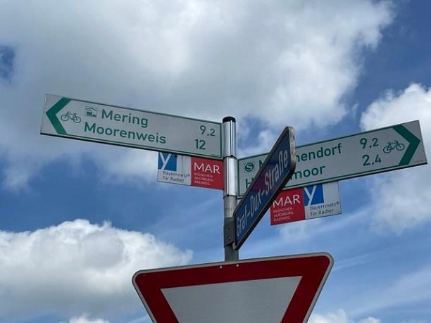 MAR Radweg von München nach Augsburg
