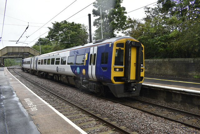 158 790 at Cramlington
