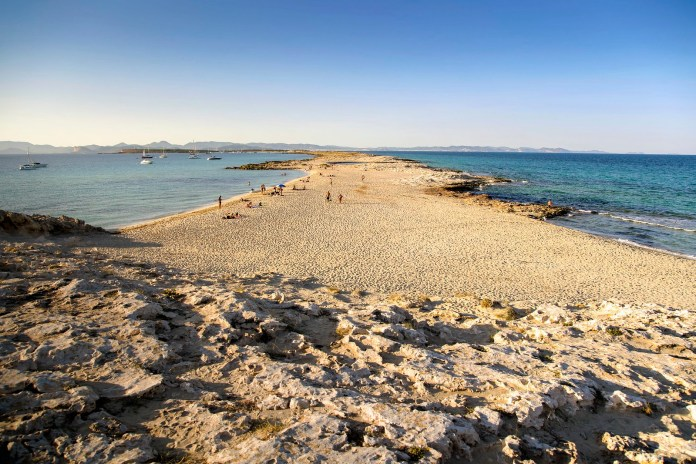 Playa de Ses Illetes, Formentera-福门特拉岛水清沙幼 巴利亞利群島
