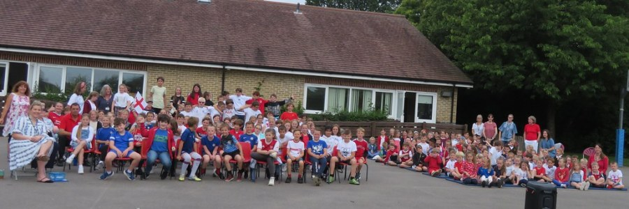 Sandhurst supports England in the 2021 World Cup