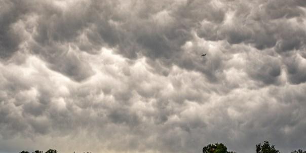 Into the Mammatus Sky