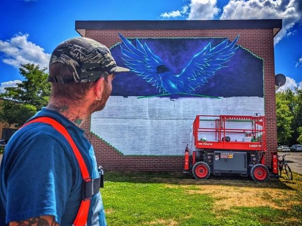 Essential Workers Mural - Belleville, Ontario Canada