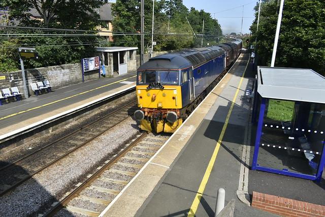 S.R.P.S Railtour at Cramlington