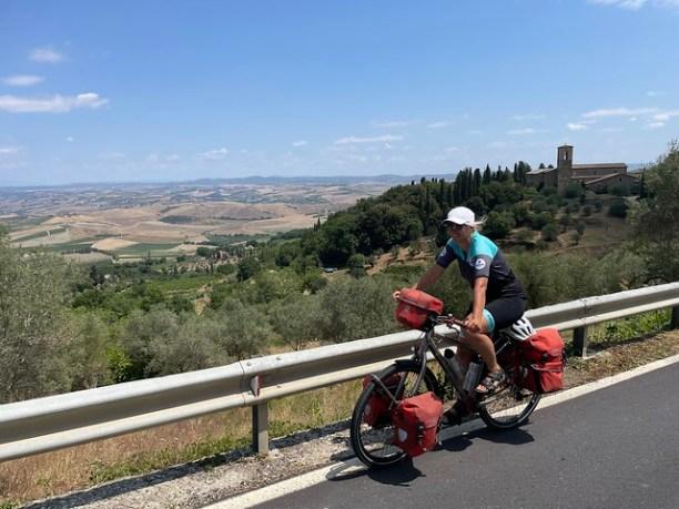 Hinauf nach Montalcino