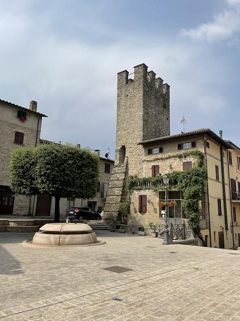Valfabricca Dorfplatz