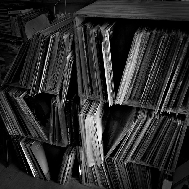 Vinyl Shelves