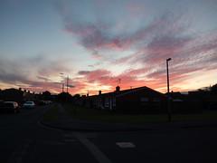 Drapers fire sky