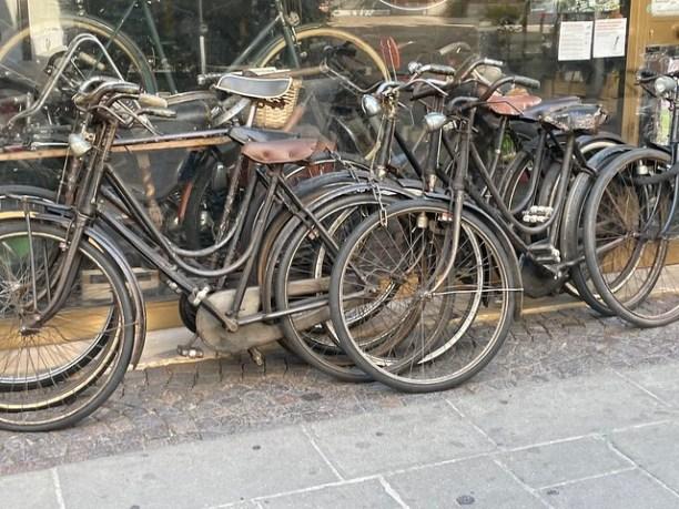 Fahrradladen antik