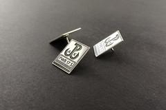pins srebrny PWPW