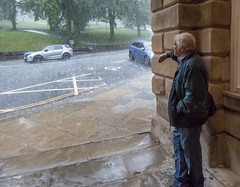 Dodging the downpour in Buxton