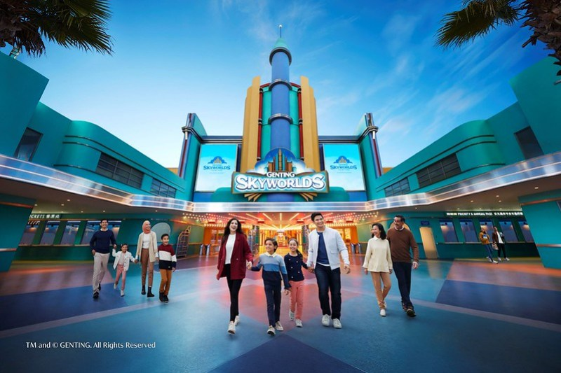 Genting SkyWorlds Theme Park - Studio Plaza