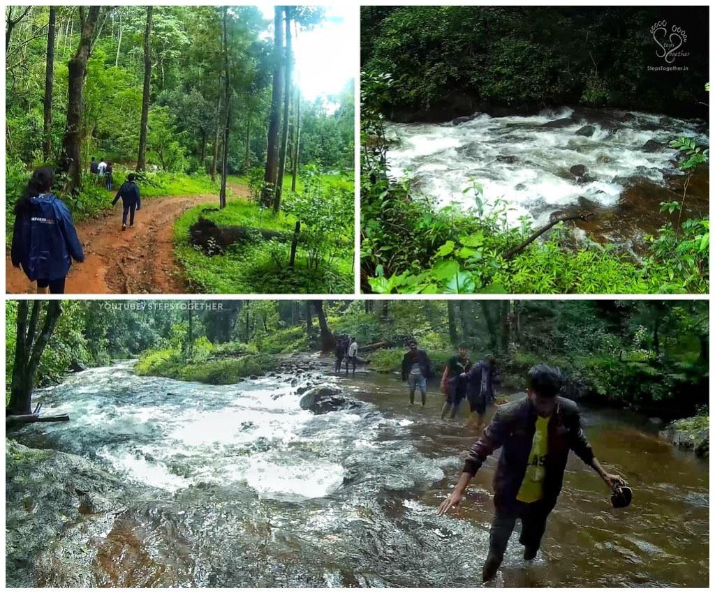 Walk trail to Hebbe falls