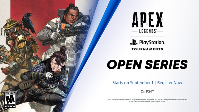 Apex Legends and Rainbow Six Siege join the PlayStation Tournaments: Open Series 2