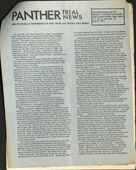 New Issues of Panther Trial News now online: 1970-71