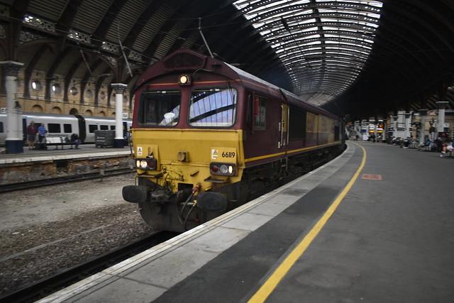 EWS Class 66 at York