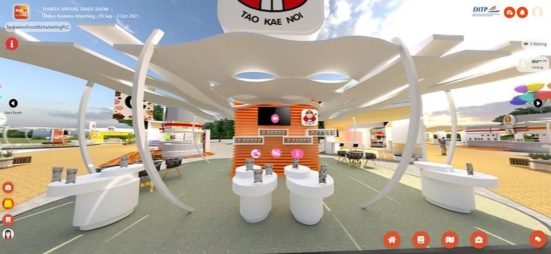 Thaifex Anuga Asia virtual trade exhibition tao kae noi