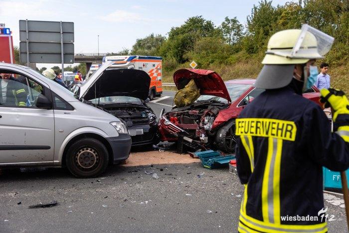 Verkehrsunfall L3057 Friedrichsdorf
