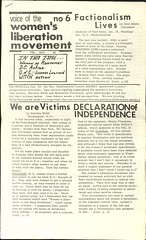 Voice of the Women's Liberation Movement: 1969