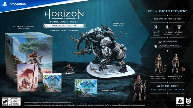 Pre-order Horizon Forbidden West now: Collector's and Digital Deluxe Editions detailed 3