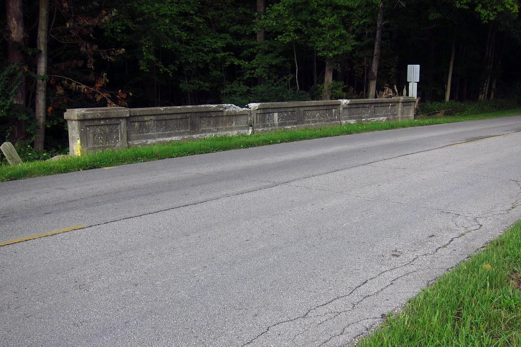 Bridge on Woodside Drive