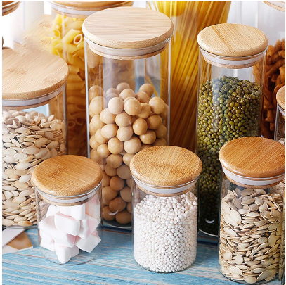 Airtight Jar Spice Container Bottle Dispensers