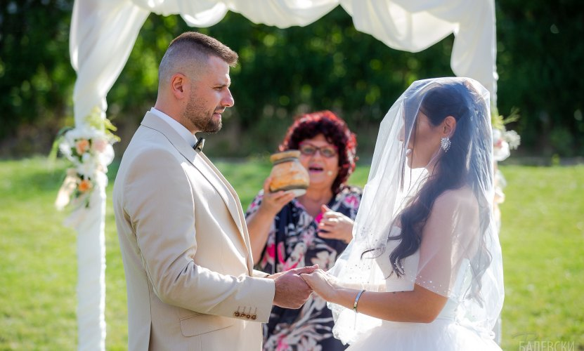 Сватбата на Вили и Максим