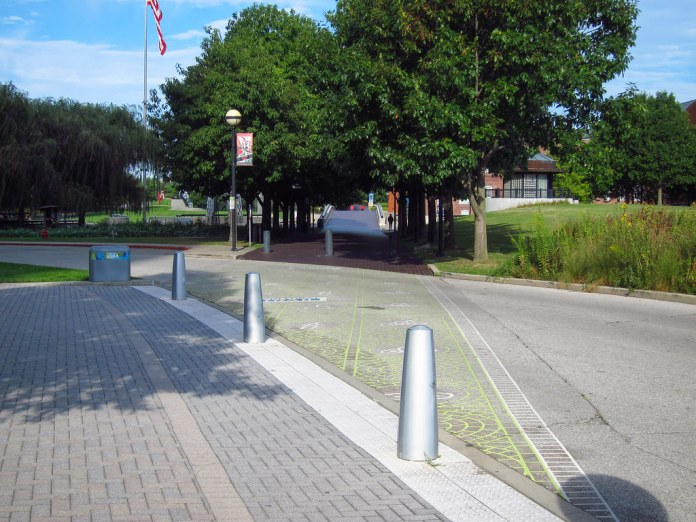 Original NR path through White River SP, Indianapolis