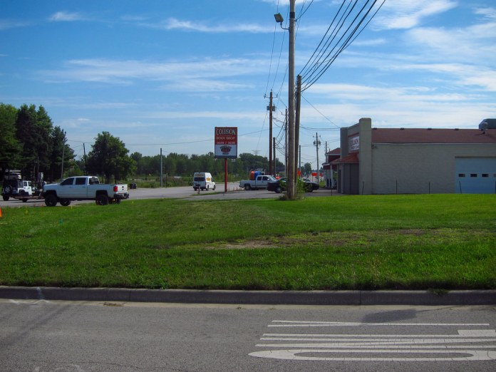 Fmr NR/US 40 alignment, Plainfield IN EB