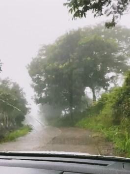 Costa Rica mountain road