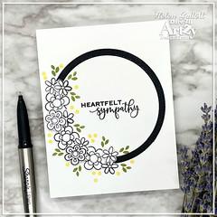 Heartfelt Sympathy CAS Card