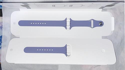 English Lavender Apple Watch Sport Band