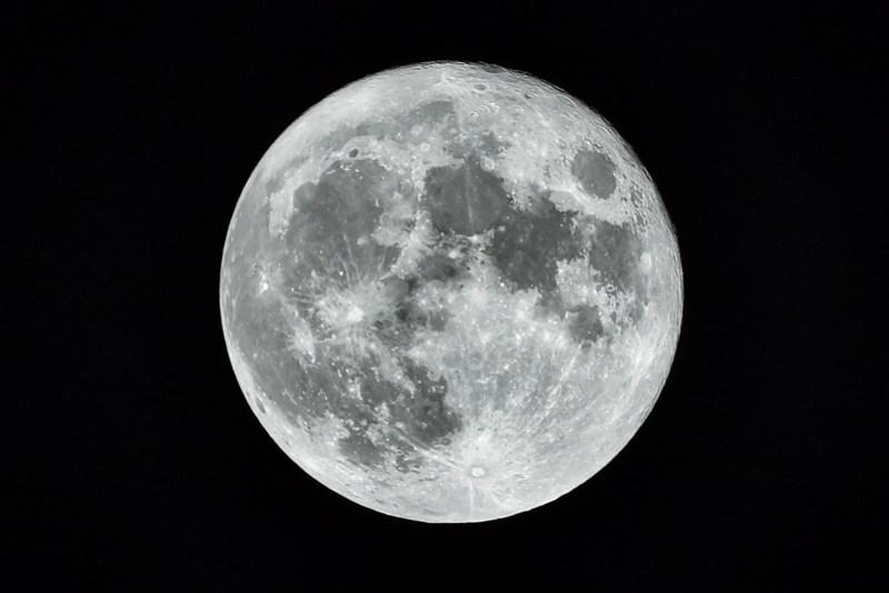 Harvest full moon