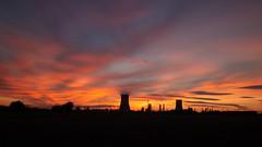 Sunset Saltend long exposure wa