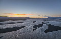 Skeidararjökull glacier and Gigjukvisl.