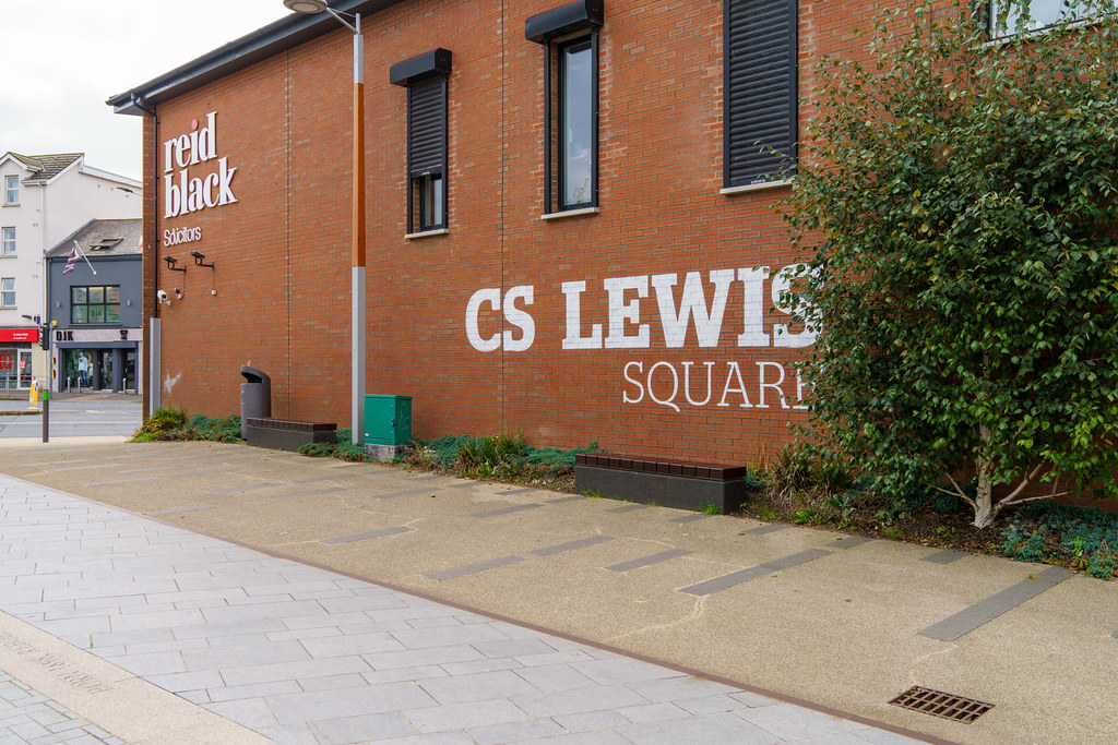 THE SEARCHER BY ROSS WILSON [CS LEWIS SQUARE IN BELFAST]-197595