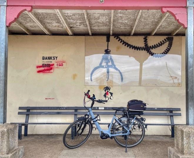 CP/52/2021 Week 34 Banksy and Bike