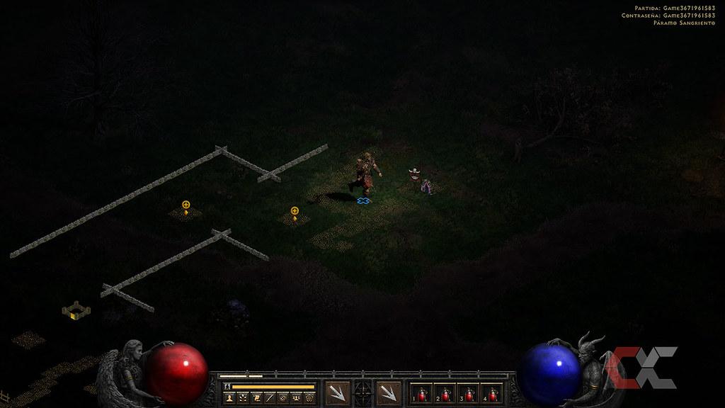 Review-Diablo-II-Resurrected-Overcluster-Mapa