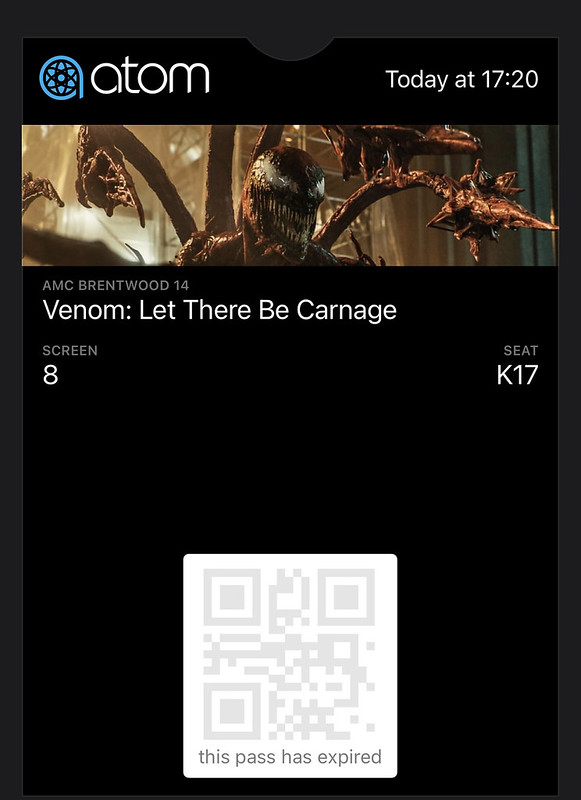 go see Venom: Let There Be Carnage