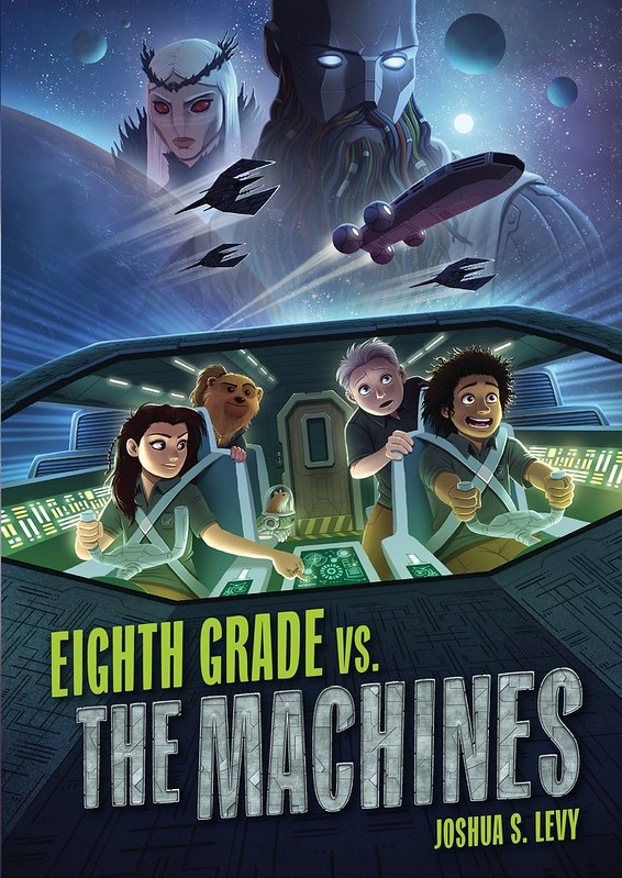 Cover to Eighth Grade Vs. The Machines