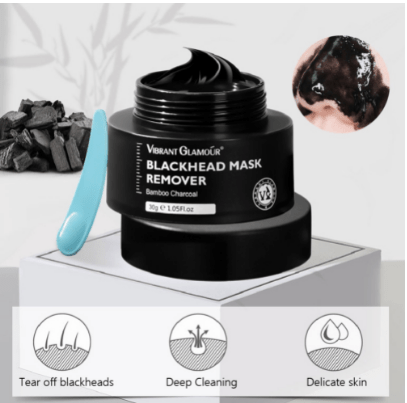 VIBRANT GLAMOUR Bamboo Charcoal Blackhead Remover Face Mask Peel-Off