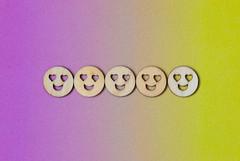 Love heart eyes Emojis